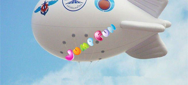 Advertising-helium-inflatable-dirigible-helium-blimp-airplane